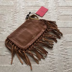 Valentino Garavani Zodiac Clutch Bag New With Tags